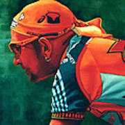 Marco Pantani 2 Art Print by Paul Meijering