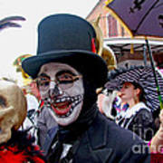 Mardi Gras Costumes Photo Art Print