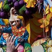 Mardi Gras Float 1 Throw Me Somthin' Mister Art Print