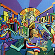 Mardi Gras Lets Get The Party Started Art Print