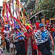 Mardi Gras In New Orleans Art Print