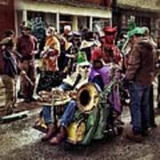 Mardi Gras Parade Art Print