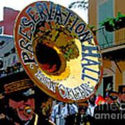 Mardi Gras Preservation Hall Photo Artistic Art Print