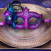 Mardi Gras Theme - Surprise Guest Art Print by Mike Savad