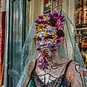 Mardi Gras Voodoo In New Orleans 2 Art Print by Louis Maistros