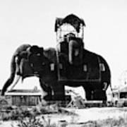 Margate Elephant, C1900 Art Print