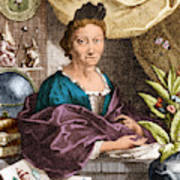 Maria Merian  Art Print by Science Source