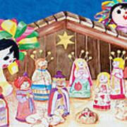 Maria Sofia And The Nativity Art Print