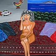 Maria Speaks The Naked Truth Art Print