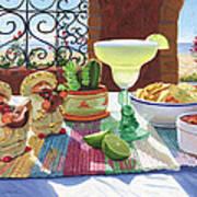 Mariachi Margarita Art Print