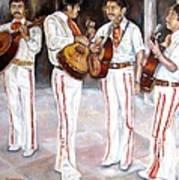 Mariachi  Musicians Art Print