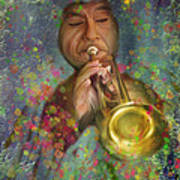 Mariachi Trumpet Player Art Print
