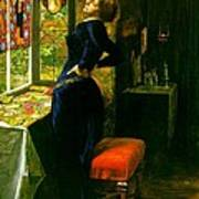 Mariana In The Moated Grange 1851 Art Print