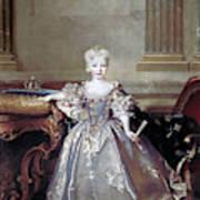Mariana Victoria Of Spain (1718-1781) Art Print