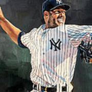 Mariano Rivera - New York Yankees Art Print