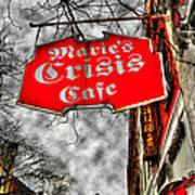 Marie's Crisis Cafe Art Print