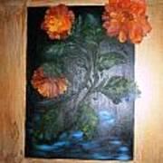 Marigolds Art Print