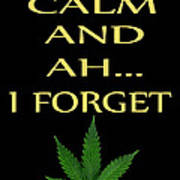Marijuana 4 Art Print