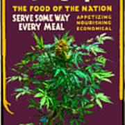 Marijuana Poster Art Print