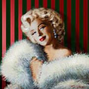 Marilyn 126 D 3 Art Print