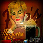 Marilyn And Fitz's Art Print