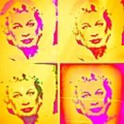 Marilyn Grew Up Art Print