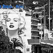 Marilyn In Cannes Art Print