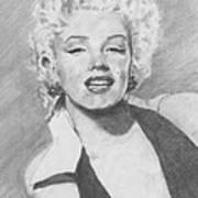 Marilyn. Art Print