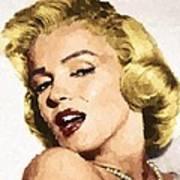 Marilyn Monroe 08 Art Print