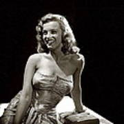 Marilyn Monroe Photo By J.r. Eyerman 1947-2014 Art Print