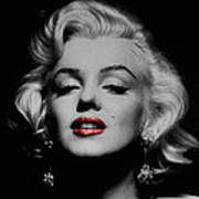Marilyn Monroe 3 Art Print by Andrew Fare