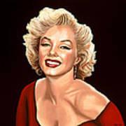 Marilyn Monroe 3 Art Print by Paul Meijering