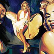 Marilyn Monroe Artwork 3 Art Print