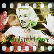 Marilyn Monroe Film Art Print