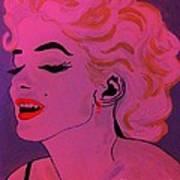 Marilyn Monroe Pop Art Art Print