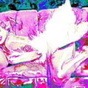 Marilyn Monroe Portrait.8 Art Print