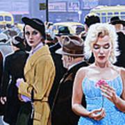 Marilyn Monroe - River Of No Return Art Print