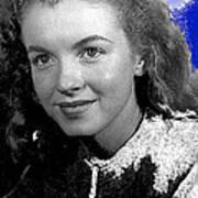Marilyn Monroe Then Norma Jeane Dougherty Photo By H. Maier Studios Los Angeles Ca C.1943-2014 Art Print