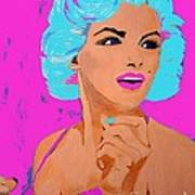 Marilyn Monroe Undisputed Beauty Art Print