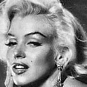 Beautiful Marilyn Monroe Unique Actress Art Print
