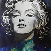Marilyn Monroe..2 Art Print by Chrisann Ellis