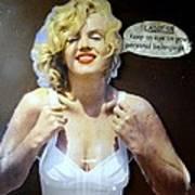 Marilyns Pointers Art Print