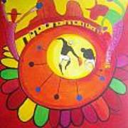 Marimbona Art Print by Jose jackson Guadamuz guadamuz