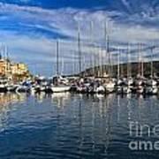 marina in Porto Azzurro Art Print