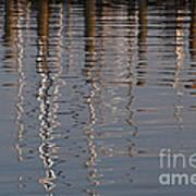 Marina Reflection 3 Art Print