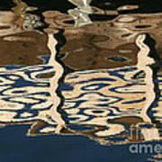 Marina Reflections Art Print