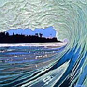 Marine Street Art Print