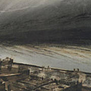 Marine Terrace In Jersey Print by Victor Hugo