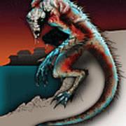 Marine Troll Art Print