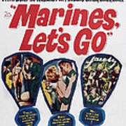 Marines, Lets Go, Us Poster, 1961, Tm & Art Print